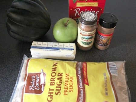 Apple and Raising Stuffed Acorn Squash Recipe