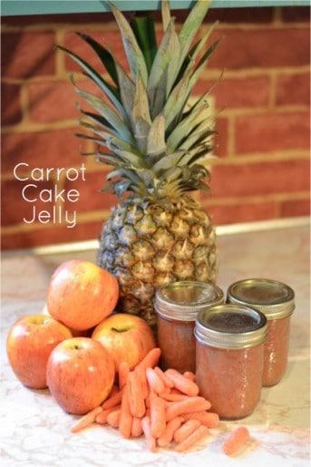 Carrot Cake Jelly Recipe
