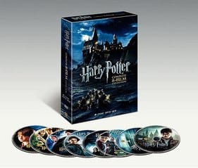 HARRY POTTERCOMPLETE 8-FILM COLLECTION