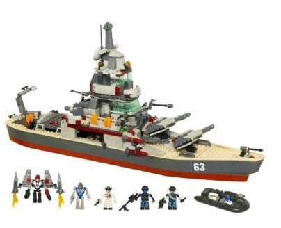 KRE-O Battleship U.S.S. Missouri Set