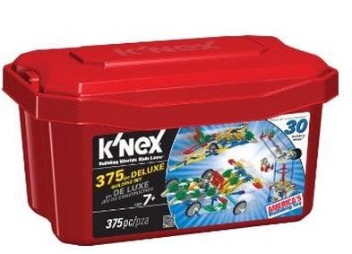_ K_NEX 375 Piece Deluxe Building Set