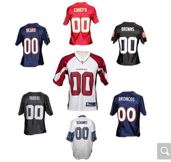 Reebok NFL Team Replica Jerseys