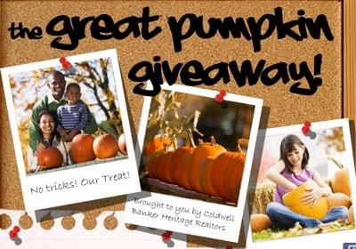 The Great Pumpkin Giveaway