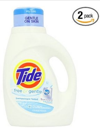 Tide Free and Gentle High Efficiency