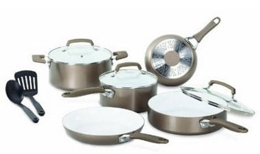 WearEver C944SA64 Pure Living Nonstick Cooking Set