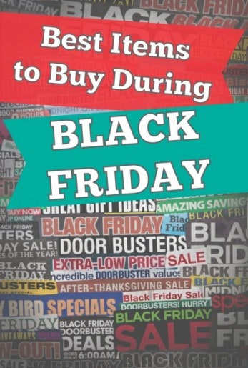 What to Buy on Black Friday