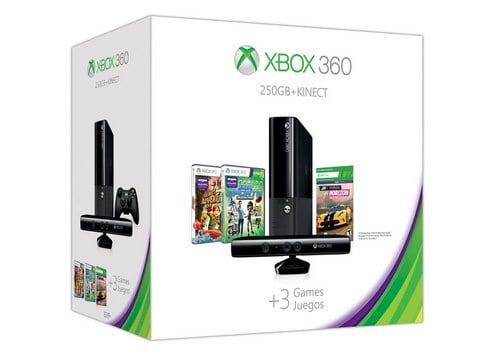 Xbox 360 E 250GB Kinect Holiday Value Bundle