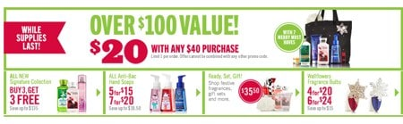 Bath & Body Works VIP Bag