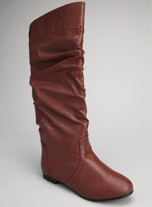 Chocolate Slouch Boot