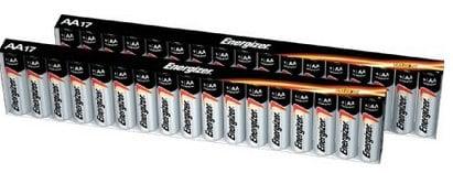 Energizer Max Alkaline AA Batteries, 34 Count