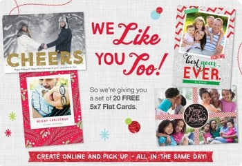 Free Photo Card Offer