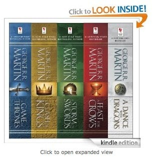 Game of Thrones 5-Boxed Book Set