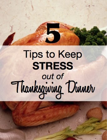 Have a Stress-Free Thanksgiving