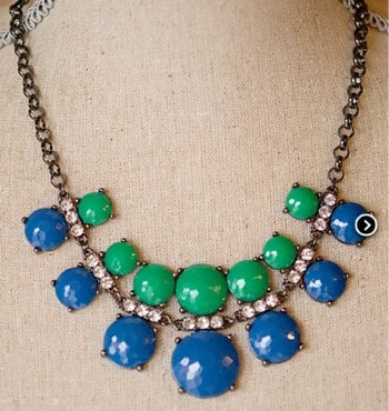 Jess Circular Statement Necklace *more colors* — Cents Of Style