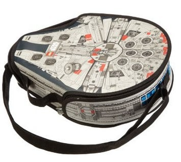 LEGO® Star Wars ZipBin® Large Millennium Falcon Messenger Bag