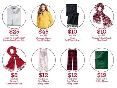 Lands End Thanksgiving Day Doorbusters