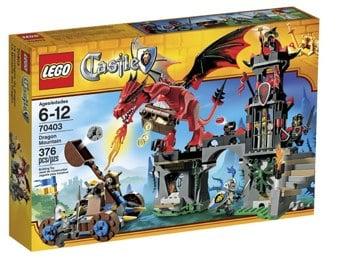 Lego Castle Dragon Mountain