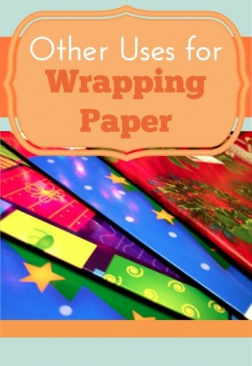 Other Uses for Wrapping Paper