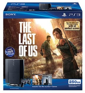 PS3 250GB Console Bundle with The Last of Us
