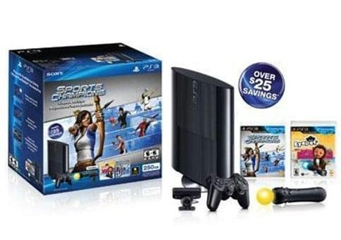 PS3 250GB Hardware Bundle