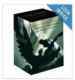 Percy Jackson Boxed Book Set