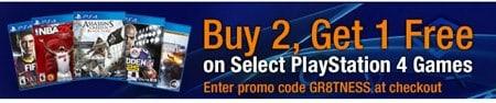 PlayStation 4 Games Sale