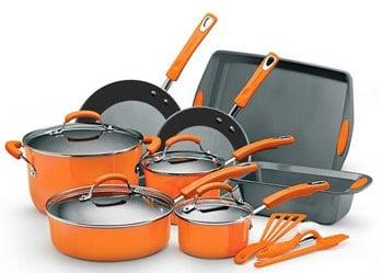 Rachael Ray 15 Pc Cookware Set