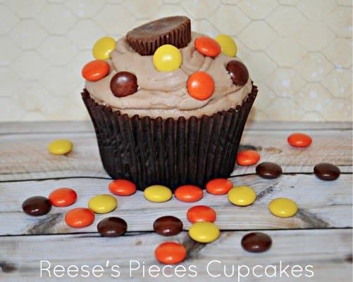 Reeses Pieces Cupcakes Recipe