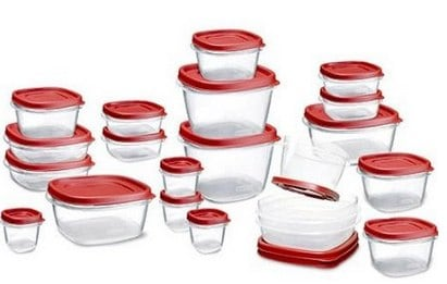 Rubbermaid Easy Find Lid Food Storage Set