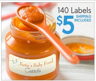 Vistaprint Customized Labels - $5 Shipped (48 Hours!) - Escalate Network