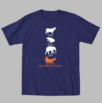 What Does the Fox Say Apparel