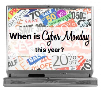 When is Cyber Monday this year?