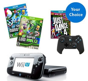 Wii U Holiday Bundle Deal