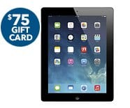 iPad with Retina Gift Card Offer 115630 - Best Buy