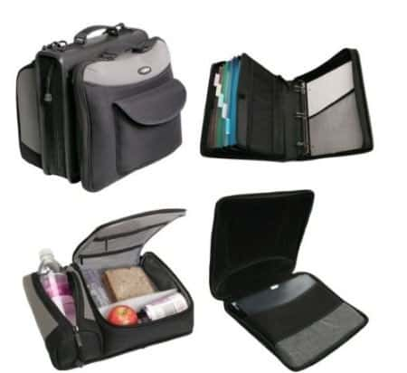 Case-It Couponing Binder with Computer Case and Lunch Kit