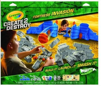 Crayola Create 2 Destroy Fortress
