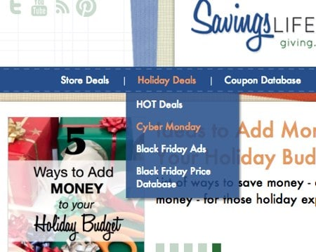 Cyber Monday Deals and Sales