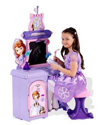 Disney Princess Sofia the First Royal Prep Talking School Desk_ Pretend Play, Arts & Crafts _ Walmart.com
