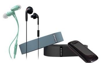 Fitbit Activity Tracker and Earbud bundle Door Buster