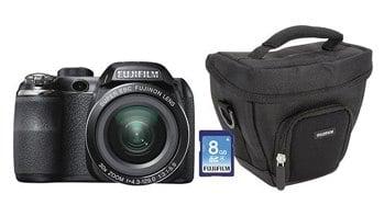 Fujifilm FinePix S4530 14.0Megapixel Digital Camera Black S4530 CAMERA BUNDLE BLACK - Best Buy