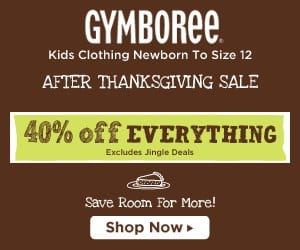 Gymboree Cyber Monday Deals