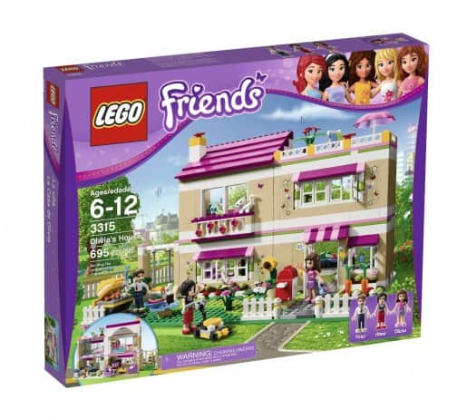 LEGO Friends Olivias House Deal