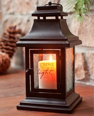 Love Came Down -Light of the World-Decorative Lantern | DaySpring