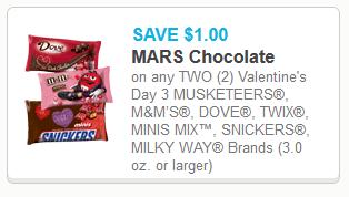 Mars Valentine Candy