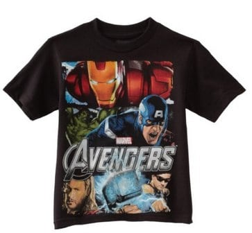 Marvel Boys 2-7 Avengers Tee