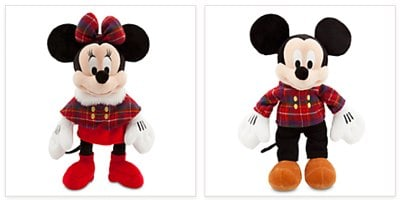 Mickey Holiday Plush Special Offer