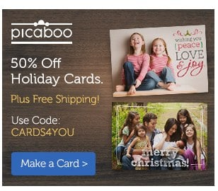 Picaboo Holiday Card Deal