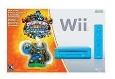 Skylanders Giants Blue Nintendo Wii Console Bundle