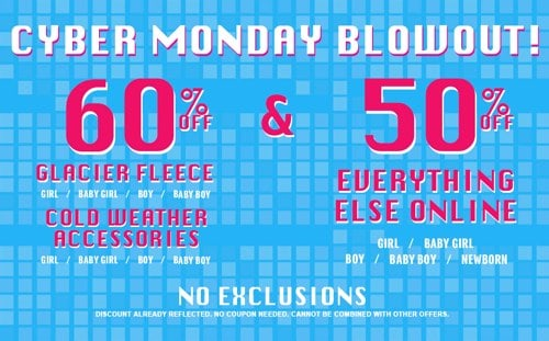 The Childrens Place Cyber Monday Blowout Sale