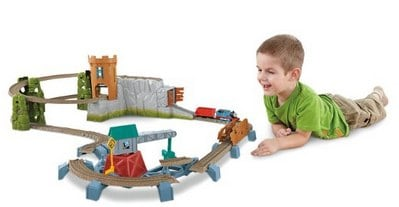Thomas the Train_ TrackMaster Castle Quest Set_ Toys & Games